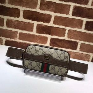 Gucci Monogram Belt Bag Check Description